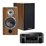 Marantz Melody X M-CR612 Noir + Cabasse Antigua MT32 Noyer
