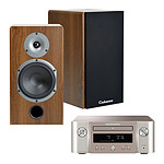 Marantz Melody X M-CR612 Argent/Or + Cabasse Antigua MT32 Noyer