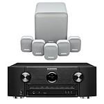 Marantz SR6015 Noir + Monitor Audio MASS 5.1 Blanc