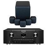 Marantz SR6015 Noir + Monitor Audio MASS 5.1 Noir