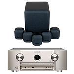 Marantz SR6015 Argent/Or + Monitor Audio MASS 5.1 Noir