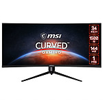 "MSI 34"" LED - Optix MAG342CQR"