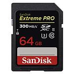 SanDisk Extreme PRO UHS-II U3 64 Go