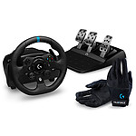 Logitech G923 (PC / Xbox One) + Logitech G Racing Gloves