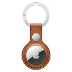 Apple Porte-Clés en cuir AirTag Havane