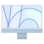 """Apple iMac (2021) 24"""" 2 To Bleu (MGPL3FN/A-16GB-2TB)"""