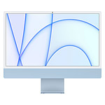 """Apple iMac (2021) 24"""" 256 Go Bleu (MJV93FN/A-MKPN)"""