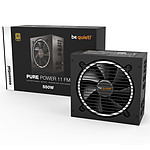 Be Quiet ! Pure Power 11 FM 550W 80PLUS Oro