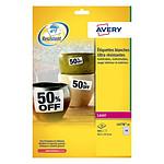 Avery Etiquettes ultra-résistante blanc 21,2 x 45,7 mm