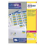 Avery Etiquettes pour timbres 33,9 x 63,5 mm, Blanc, Laser