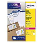Avery Etiquettes d'expédition 289,1 x 199,6 mm, Blanc, Laser
