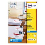 Avery Etiquettes pour timbres 33,9 x 63,5 mm, Blanc, Jet d'encre