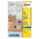 Avery Etiquettes d'expédition 199,6 x 289,1 mm, Blanc, Jet d'encre