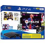 Sony PlayStation 4 Slim (500 Go) + FIFA 21