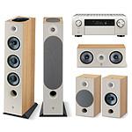 Denon AVC-X4700H Argent + Focal Pack Chora 826-D Light Wood