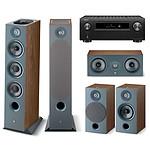 Denon AVC-X6700H Noir + Focal Pack Chora 826-D Dark Wood