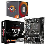 Kit Upgrade PC AMD Ryzen 5 1600 AF MSI A320M-A PRO