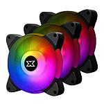 Xigmatek BX120 Galaxy III Essential Pack de 3 - Noir