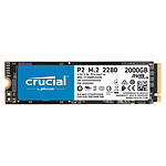 Crucial P2 M.2 PCIe NVMe 2 To