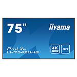 "iiyama 74.5"" LED - ProLite LH7542UHS-B3"