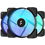Fractal Design Aspect 12 RGB PWM 3-Pack Noir
