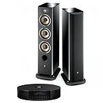 Elipson MC Connect HD + Focal Aria 926 Black High Gloss