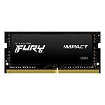 Kingston FURY Impact SO-DIMM 8 Go DDR4 2666 MHz CL15