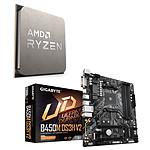 Kit de actualización de PC AMD Ryzen 5 3600 Gigabyte B450M-DS3H V2