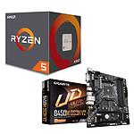 Kit Upgrade PC AMD Ryzen 5 1600 AF Gigabyte B450M-DS3H V2