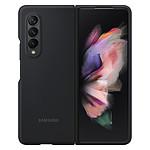 Samsung Coque Silicone Noir Galaxy Z Fold3