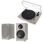 Triangle Platine Vinyle Gris Lin + Triangle AIO TWIN Gris Lin