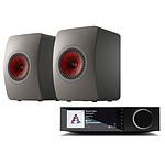 Cambridge Audio EVO 75 + KEF LS50 Meta Gris Titanium