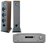 Cambridge Audio AX R100D + Focal Chora 826 Dark Wood