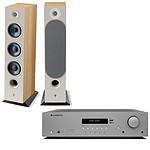 Cambridge Audio AX R100D + Focal Chora 826 Light Wood
