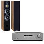 Cambridge Audio AX R100D + Davis Acoustics Balthus 90 Noyer Américain