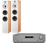 Cambridge Audio AX R100D + B&W 603 S2 Chêne Anniversary Edition