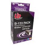 UPrint B-123BK/C/M/Y Noir/Cyan/Magenta/Jaune