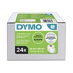 DYMO Pack de 24 Rouleaux de 260 Etiquettes Adresse LabelWriter - 86 x 36 mm