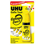 UHU Colle Collage 3 en 1 35 ml