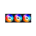 Lian Li Uni Fan AL120 RGB Par 3 (noir) + Contrôleur