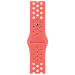 Apple Bracelet Nike Sport 45 mm Tison Magique/Cramoisi Absolu
