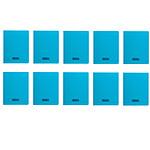 Calligraphe 8000 Polypro Cahier 96 pages 17 x 22 cm seyes grands carreaux Bleu (x10)