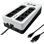 Eaton 3S 850 FR (Gen 2) + Câble USB 2.0 vers Micro USB Type AB (Mâle/Mâle)- 1 m