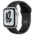 Apple Watch Nike SE GPS Space Gray Aluminium Bracelet Sport Anthracite/Noir 40 mm