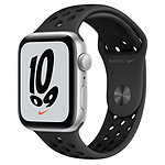 Apple Watch Nike SE GPS Space Gray Aluminium Bracelet Sport Anthracite/Noir 44 mm