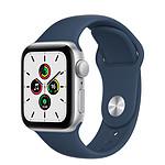 Apple Watch SE GPS Gold Aluminium Bracelet Sport Bleu Abysse 40 mm