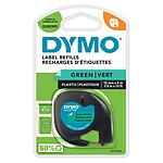 DYMO LetraTAG Ruban d'Étiquettes Noir sur Vert