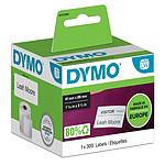 Dymo LabelWriter Etiquettes Badge Nominatif - 89 x 41 mm (pack de 300)