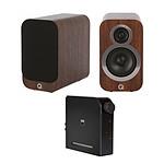 NAD D 3020 V2 + Q Acoustics 3010i Noyer