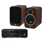 Yamaha MusicCast R-N303 Noir + Q Acoustics 3030i Noyer
